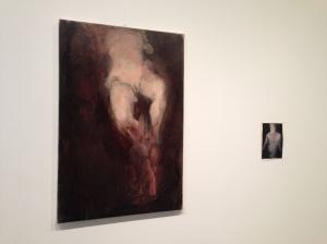Lisa Castellani - Senza Titolo, l'opera più piccola è realizzata in olio su carta - 2012