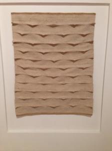 Mare, 1978 Lana, canapa, cotone, elaborazione al telaio