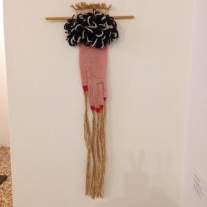 Mano di signora, 1982 Lana, cotone, juta, tessitura a mano