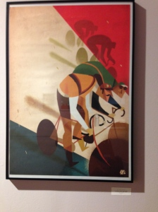 La centième. Poster Limited edition for Tour de France. 1913 - 1926 - Riccardo Guasco - Rapha (2013) - digital