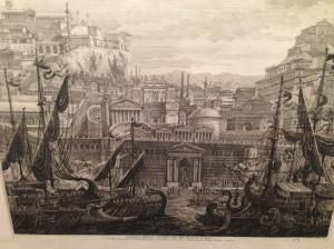 Luigi Rossini - Frontespizio dell'Opera delle Porte, e delle Mura del Recinto di Roma … - 1829