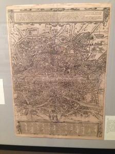 George Braun ( o Bruyn), Franz Hogemberg - Antiquae urbis Roma imago accuratiss - 1588