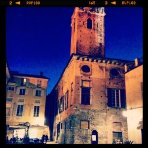La piazza antistante la Cattedrale