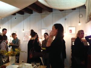 Silvia Trevisan, proprietaria di Laboratorio 0/9 presenta la mostra