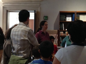 Monica Facchini, travel blogger e tra le organizzatrici dell'evento lascia ai visitatori le linee guida da tenere presente per le invasioni 2014 #invadiamovicenza #invasionidigitali