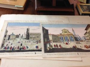 Vedute di città italiane - Carte Remondini