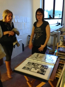 Valentina Rosset illustra il suo lavoro