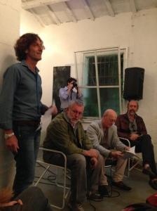 Mirko Cremasco introduce l'incontro di sabato 31 maggio
